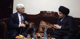 الصدر يبحث مع حسن العلوي أخر المستجدات على الساحة العراقية