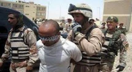 اعتقال 8  عراقين بتهمة الارهاب  في الموصل
