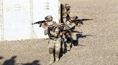 اعتقال مطلوبين وإبطال هجوميين احدهما بصاروخ في صلاح الدين