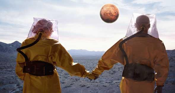 مليار دولار للوصول الى المريخ !!