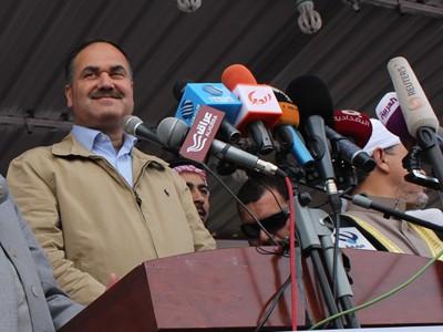 العيساوي:يدعو نائب رئيس الوزراء ووزراء القائمة العراقية إلى تقديم استقالاتهم والانسحاب فورا ونهائيا من الحكومة
