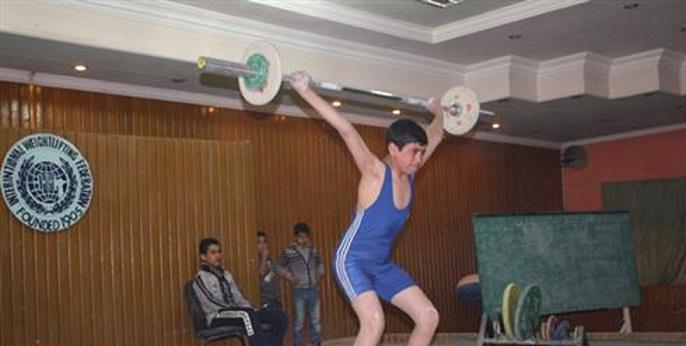 بطولة المحافظات للبراعم والاشبال برفع الاثقال لبغداد وواسط