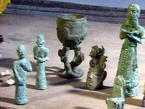 استمرار بيع الآثار العراقية في السوق السوداء