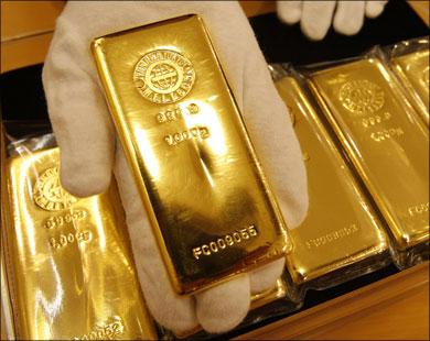 اسبوع رابع من الخسائر بعد موجة بيع واسعة النطاق للذهب