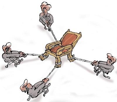 هذا الكرسي اغلى من الدم العراقي …!!