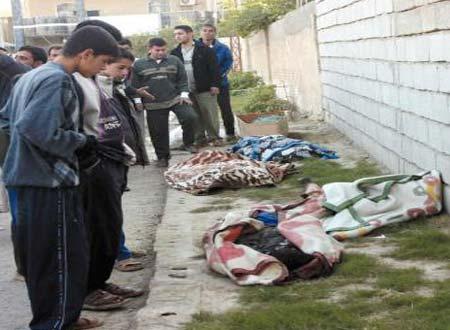 اغتيال 4 مدنيين وسط الموصل وغربها