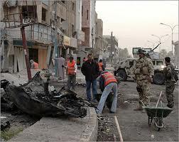 بالقرب من دائرة الجنسية بمدينة الصدر اصابة ثلاثة مدنيين بانفجار عبوة ناسفة