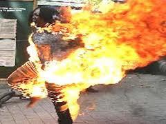 تزايد عدد النساء اللاتي يحرقن انفسهم وينتحرن في الموصل