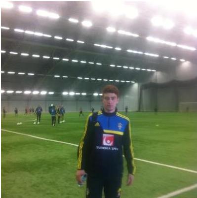 لاعب عراقي ينضم لمنتخب شباب السويد بعد ان اغلقت ابواب المنتخبات العراقية في وجهه