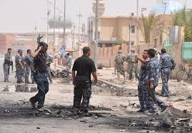 اثناء محاولتهم تفكيك سيارة مفخخة غرب الموصل مقتل جندي واصابة أخر مع شرطي