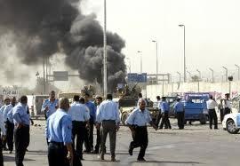 بانفجار سيارة مفخخة شرق مدينة الموصل جرح ثمانية عناصر من الجيش الحكومي