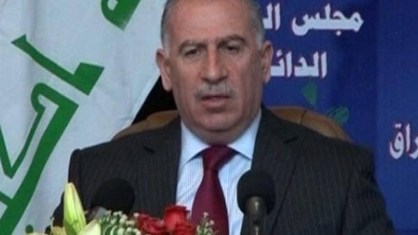 النجيفي في إدانته لأحداث الحويجة: الجيش أصبح أداة لقمع الشعب ونطالب بالتحقيق العاجل