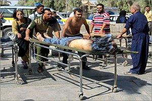 انتحاري يفجر نفسه وسط تجمع لمرشح عن القائمة العراقية وسط بعقوبة