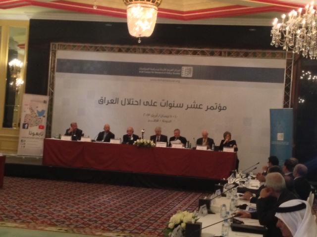 تواصل اعمال مؤتمر عشر سنوات على احتلال العراق    متابعة الدكتور احمد العامري