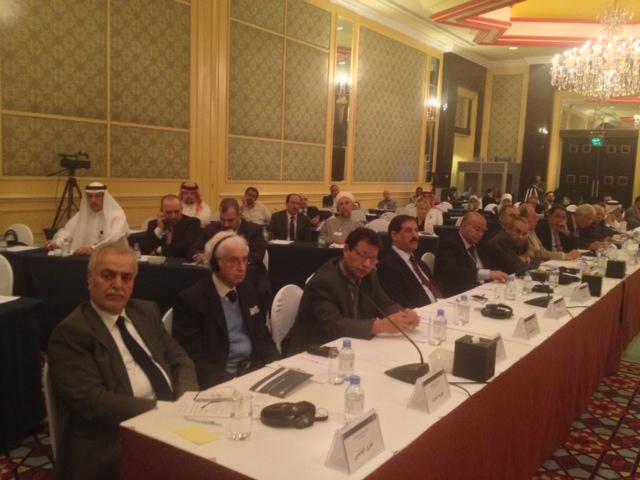 الجلسة الصباحية الثانية في مؤتمر عشر سنوات على احتلال العراق  متابعة الدكتور احمد العامري