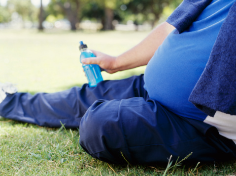 دراسة تظهر ان سمنة البطن تصيب بأمراض الكلى