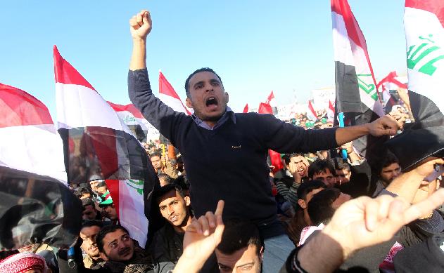 """عاجل.. متحدث """"ساحة الأحرار"""" في الموصل يدعو للجهاد ضد الحكومة"""
