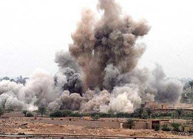 هجوم بقذائف الهاون على موقع عسكري في تكريت