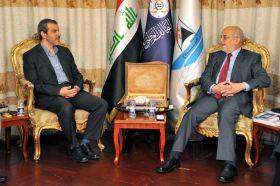 السفير الإيراني يهنئ  الجعفري بفوز دولة القانون  بالانتخابات !