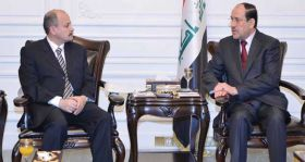 المالكي : في العراق عندنا ديمقراطية وانتخابات وتداول سلمي للسلطة وليس عندنا معتقل واحد !