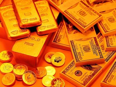 ارتفاع أسعار الذهب مع انخفاض الدولار