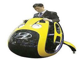 هيونداي تصمم مركبة مستقبلية غريبة الشكل من شأنها توفير نوع جديد من تنقلات الركاب