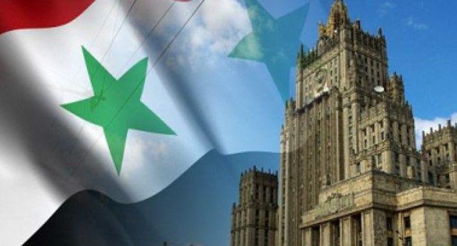 ضرورة وقف العنف وإطلاق العملية السياسية في سورية على اساس الحوار بين الحكومة والمعارضة