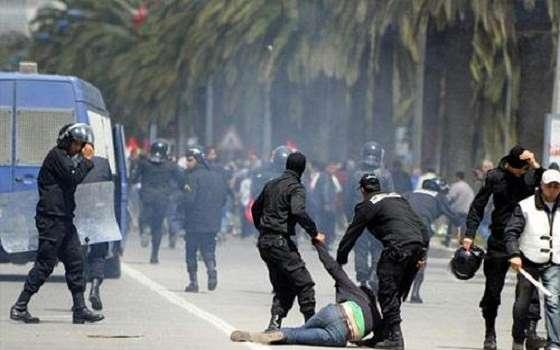إشتباكات بين سلفيين وقوات الأمن في تونس تؤدي الى مقتل واصابة خمسة اشخاص