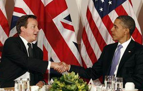 اوباما وكاميرون متفقان بشأن الاسلحة الكيمياوية السورية