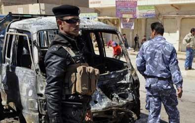 شمال شرقي بغداد مقتل واصابة (35) شخصا في انفجار سيارة مفخخة