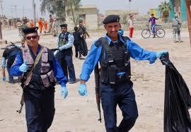 اصابة اثنين من الشرطة بانفجار عبوة ناسفة في بغداد