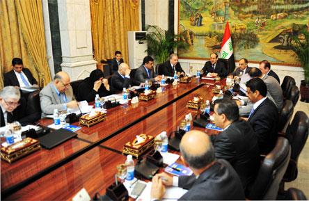 توصيات مجلس الوزراء لاجتماع يوم أمس