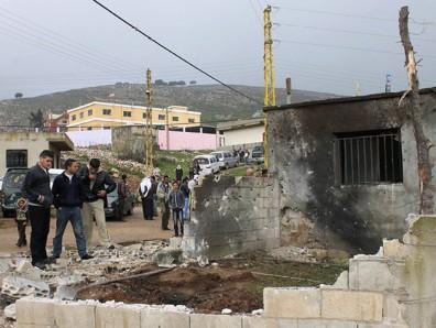 سقوط ثلاث صواريخ على منطقة الهرمل في لبنان مصدرها الاراضي السورية ..
