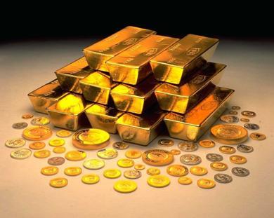 أسعار الذهب تبدد مكاسبها متجهه نحو الهبوط