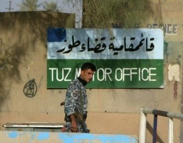 مقتل وإصابة 9 من أفراد الپيشمرگة في هجوم انتحاري بسيارة مفخخة في طوزخرماتو
