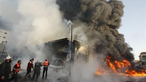 انفجار صهريج مفخخ شمال بغداد