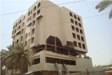 دائرة الاعمار والاسكان تباشر باعمال تأهيل بناية هيئة الاوراق المالية