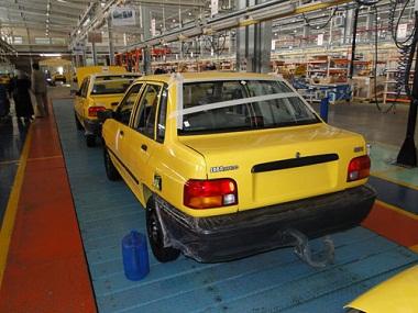 في اطار سعيها للسيطرة على اقتصاد العراق ايران تفتتح مصنعاً لأنتاج السيارات في العراق