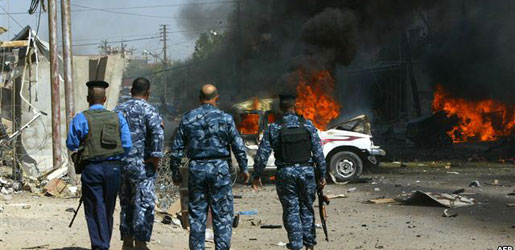 استهدفت مسجد في حي الإعلام ببغداد مقتل وإصابة 14مواطن بانفجار عبوة ناسفة