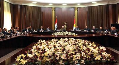 مسعود البرزاني يؤيد الاتفاق المبرم بين الاقليم ورئيس الحكومة نوري المالكي