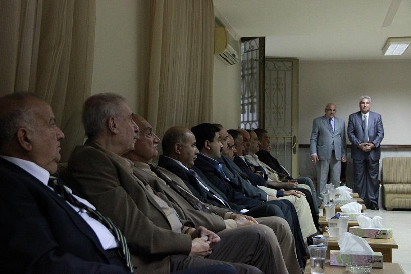 توديع واستذكار مهيب للزميل زامل غنام في العاصمة الاردنية عمان