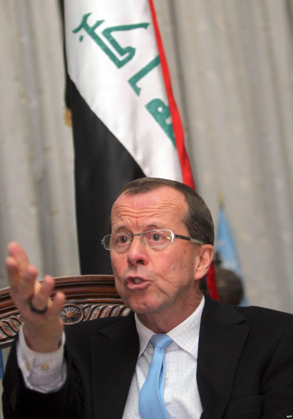 مارتن كوبلر يطالب الاتحاد الاوربي بالتدخل بقوة في العراق ؟؟؟ بقلم عبدالواحد البصري