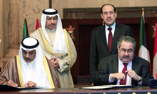 زيارة رئيس الوزراء الكويتي ..العراق ينتقل من الفصل السابع إلى الفصل السادس