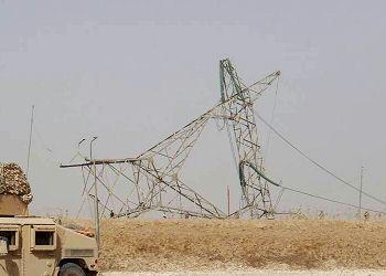 إعادة نصب سبعة ابراج كهرباء غرب بغداد بعد تعرضها لأعمال تخريب …