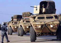 تعزيزات عسكرية الى الموصل لتدهور الوضع الامني فيها