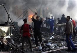 هجوم انتحاري وسط معتصمي طوزخورماتو
