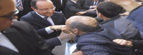 الحكم على جزائري قبل يد الرئيس الفرنسي