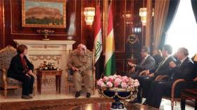 برزاني: شعب كردستان تواق للديمقراطية والتقدم والتعايش