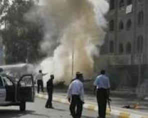 تفجير مجمع تجاري في الموصل