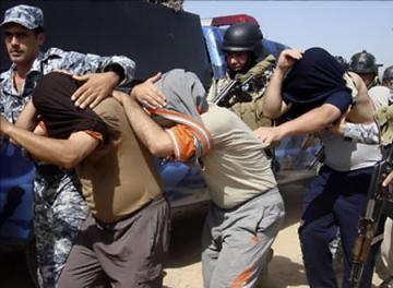 إعتقال 4 إرهابيين جنوب بغداد